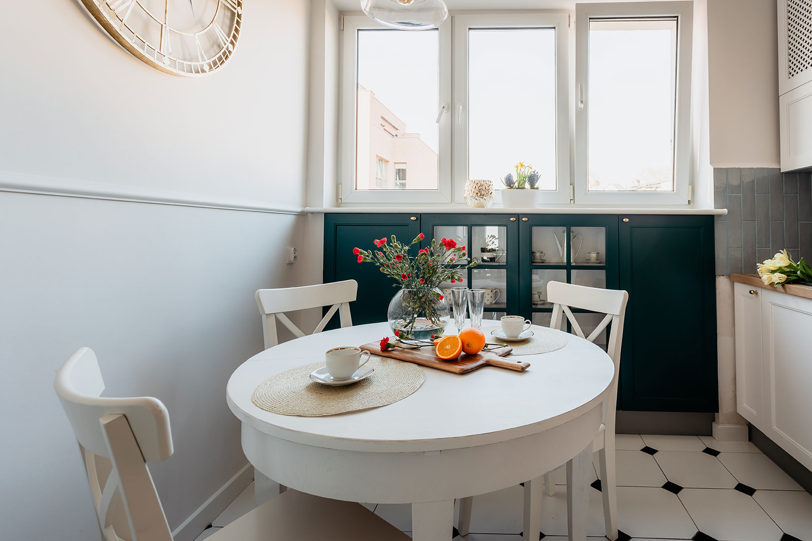 Kuchnia inspirowana stylem Hampton