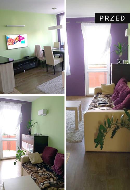 Metamorfoza mieszkania w Olsztynei - przed zmianami